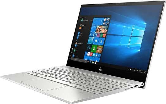 "HP ENVY 13-AQ0011 Core™ i5-8265U 1.6GHz 256GB SSD 8GB 13.3"" (1920x1080) TOUCHSCREEN BT WIN10 Webcam NATURAL SILVER Backlit Keyboard FP reader image 5"