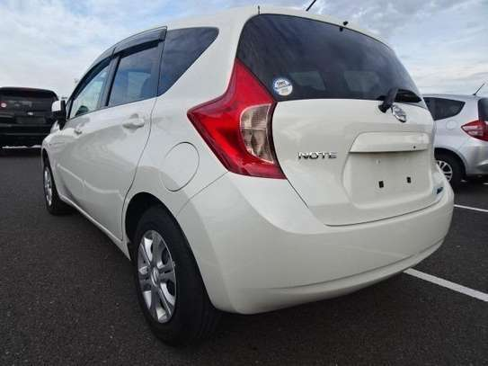 NISSAN NOTE 2013  PEARL WHITE image 2
