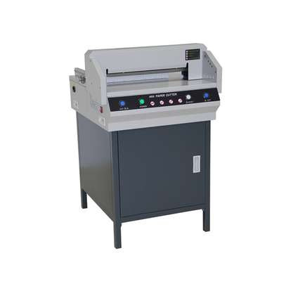 heavy duty automatic guillotine paper cutters machine G450VS image 1