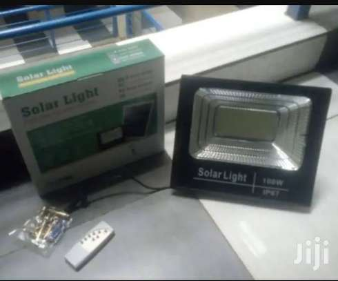 100w Solar Floodlights - They Have a Complete Set of Solar P image 1