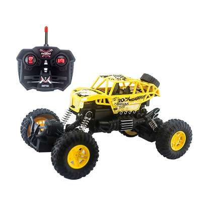 Children's remote control toy rock climber car image 4