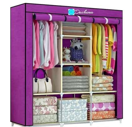 3 column portable wardrobes image 1