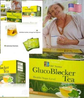 Glucoblocker Tea; 20 tea bag blood sugar product BFsuma image 3