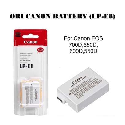 Li-Ion Replacement Battery for CANON Lp-E8 Type Batteries image 1