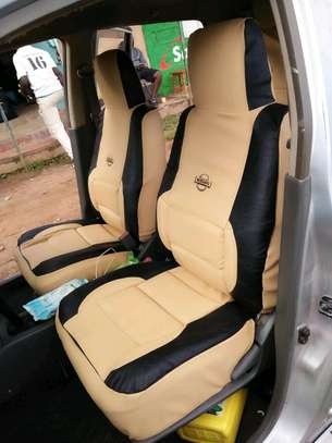 NISSAN CAR SEAT COVERS image 1