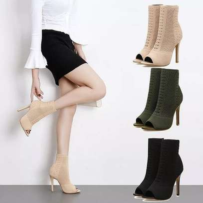 Ladies Sock Boots