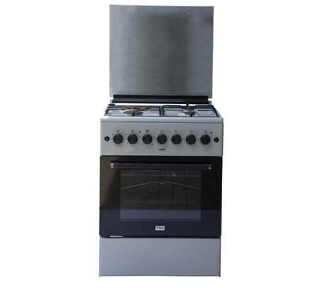 Standing Cooker, 60cm X 60cm, 3 + 1, Electric Oven, Kircili Grey image 1