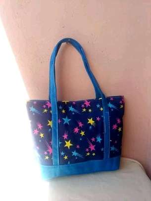 Ladies handbags(blue,black and red) image 1
