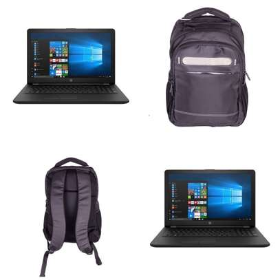 HP 15 Laptop with Backpack image 1