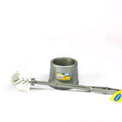 toilet brush with holder image 1