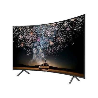 Samsung 55 inch Smart UHD 4k HDR Curved LED TV series 7 image 1