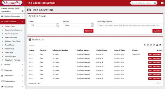 School Management  ERP System image 2