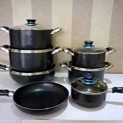 13pc Signature cookware set/Nonstick sufuria/Signature sufuria