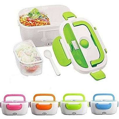 Light Weight 1.5 Liter Electric Heated Lunch Box Food Warmer image 2