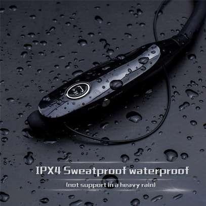 High quality neck Bluetooth Earphone headset image 4
