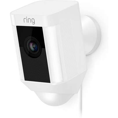 RING SPOTLIGHT WIRED CAM - WIFI SMART HOME SECURITY CAMERA image 1