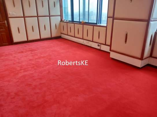 Office Interior VIP/Executive wall to wall red carpet image 1