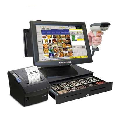 Super Markets & Shops Complete Point Of Sale POS System Kit image 2
