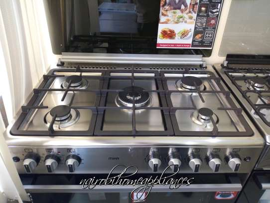 MIka 5 Gas Burner Cooker With Electric Oven