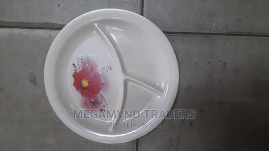 Partion Melamine Plate/Melamine Plate image 1