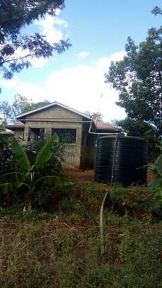 3/4 Acre Land for sale at Makuyu with a three(3) bedroomed bungalow.