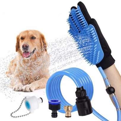 Pet Grooming Glove / Massage Glove  2-in-1 image 3