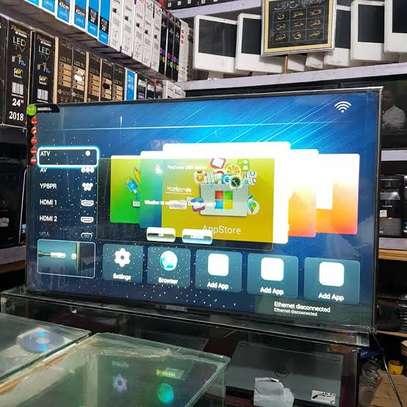 New Nobel 55 inches Android Smart Digital Frameless Tvs image 1