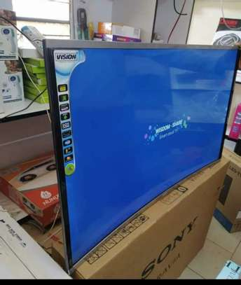 43 Vision Curved Smart LED TV Android image 1