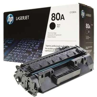 HP 80A (CF280A) LASERJET TONER CARTRIDGE BLACK image 2