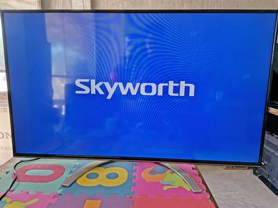 "Skyworth 50UB7500 50"" 4K ULTRA HD ANDROID TV, NETFLIX, YOUTUBE"