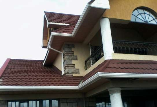 Pvc Rain Gutters and Piping System image 10