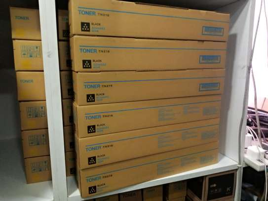 Konica Minolta Bizhub C220/280/360 Black Toners image 1