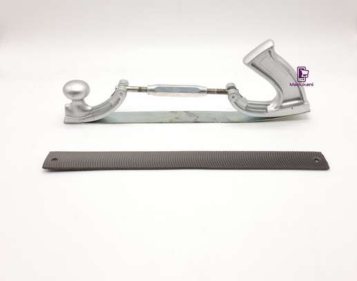 14 inch Adjustable Flexible Body File Rasp Holder with 6 File blades image 1