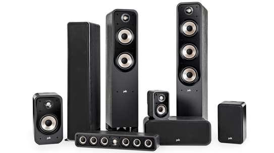 The NEW Polk Signature E Series 5-Piece High Resolution Hometheater Speaker Set image 6