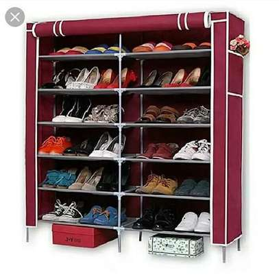 Double Dust-proof And Damp-proof Shoe Rack