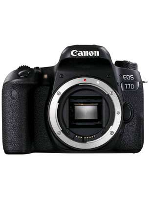 Canon EOS 77D 24.2MP Wi-Fi NFC DSLR Camera with NO Lens image 1