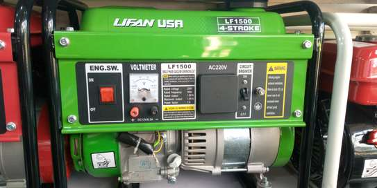 Original Lifan USA Generator 3.5kva Lf1500 image 1