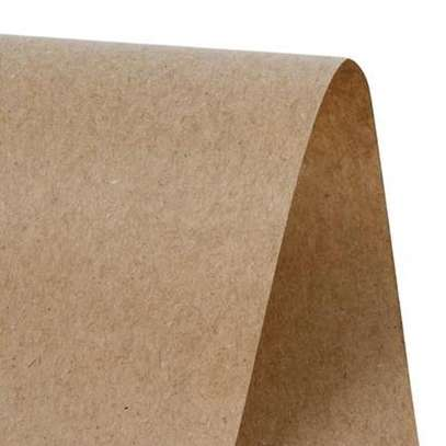 Kraft Multipurpose Brown Paper Roll Sheets, 90 x 100cm image 2