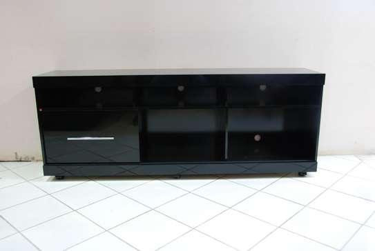 Onyx Black Glossy TV Stand image 1