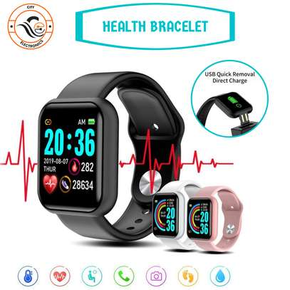 Fitness Smart Watch - Heartbeat And Step Tracker image 1