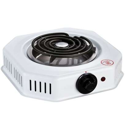 RAMTONS SPIRAL PLATE COOKER 1 BURNER WHITE- RM/250 image 1