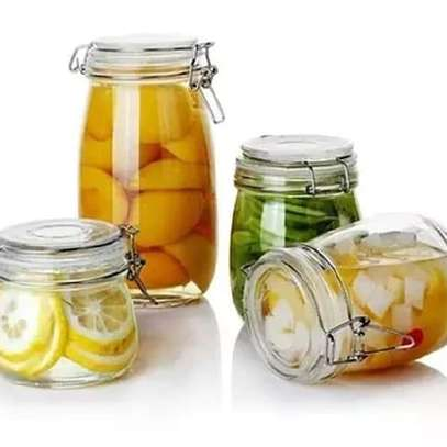 750ml Glass Jar image 1