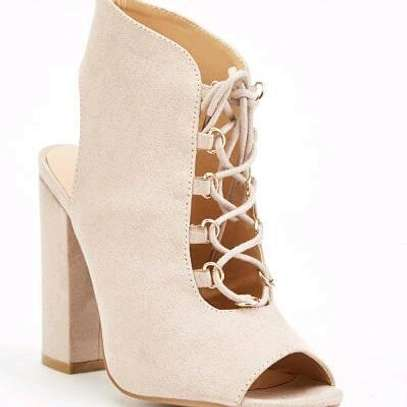 Lace Up Block Heels image 2