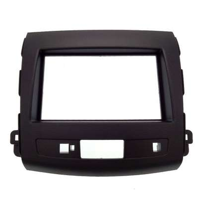 Double Din Car Radio Fascia Console For 2008-2012 Mitsubishi Outlander. image 1