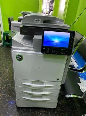Ricoh Aficio MP C401 Photocopier Machine image 1