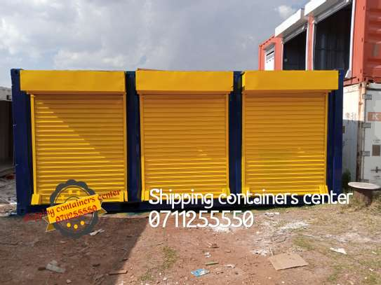 20ft Container stalls image 2