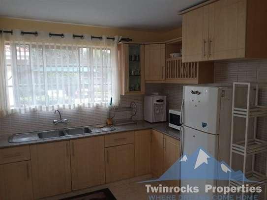 Furnished 3 bedroom house for rent in Karen image 13
