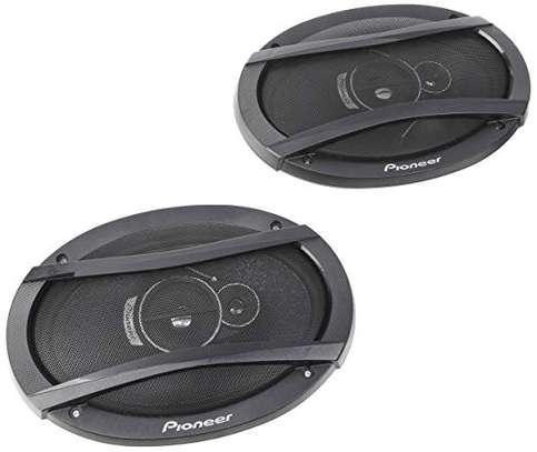 Pioneer TS-A6966S  3 Way Speakers 6x9 Inch Black