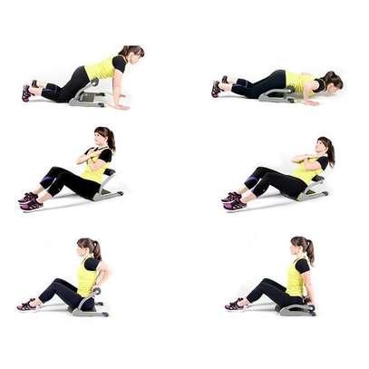 Ab Toning Workout Train Wonder Exercise System. image 1