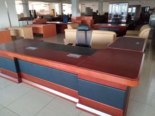 Executive office desk 3.2metres image 2
